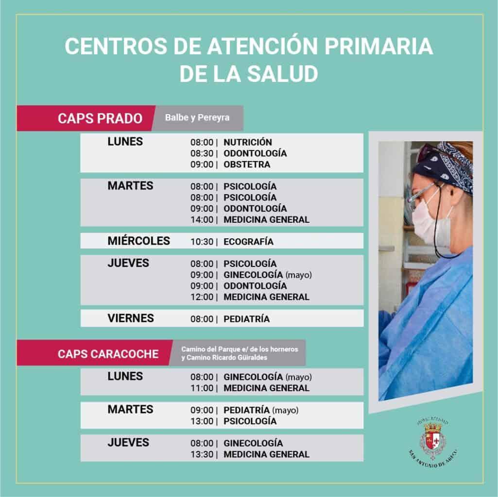 Centro de Atencion Primaria de la Salud en San Antonio de Areco Prado y Caracoche
