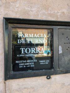 Farmacias en San Antonio de Areco 1