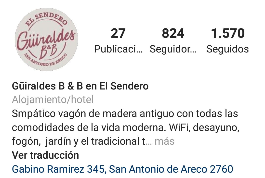 Gūiraldes B & B en San Antonio de Areco