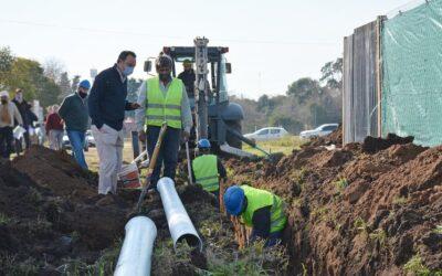 Loteos Irazu y Lecot Obras de saneamiento en San Antonio de Areco